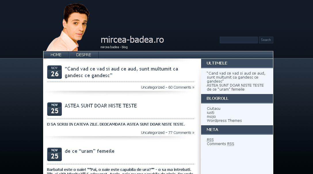 Mircea badea blog